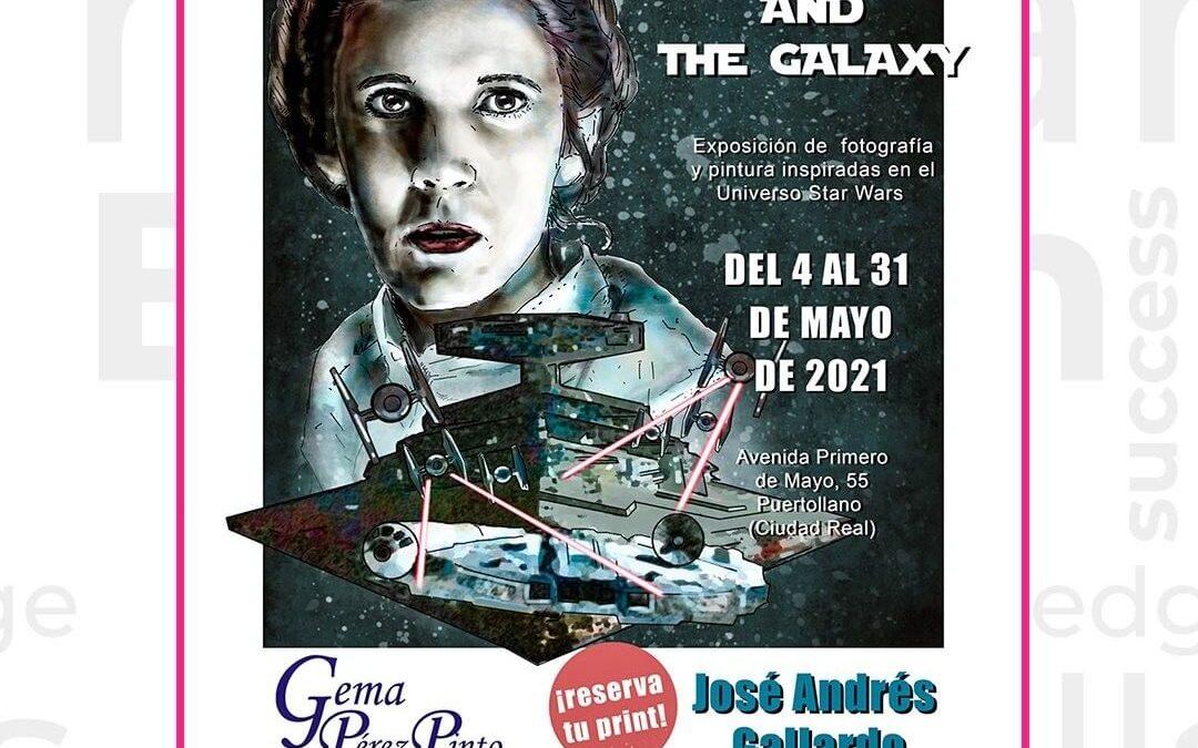 'The Force and The Galaxy'  – Fotografía y pintura de Star Wars